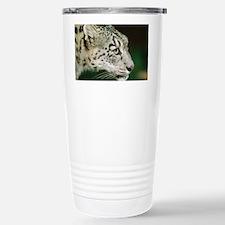 Snow leopard - Stainless Steel Travel Mug