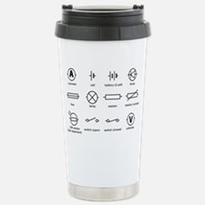Standard electrical circuit symbols - Travel Mug