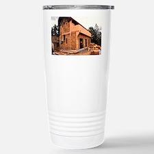 Straw bale house - Travel Mug