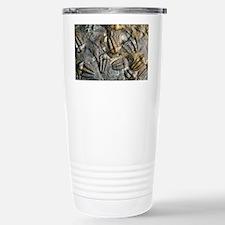 Trilobite fossils - Stainless Steel Travel Mug