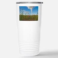 Willow grown for bioenergy - Travel Mug