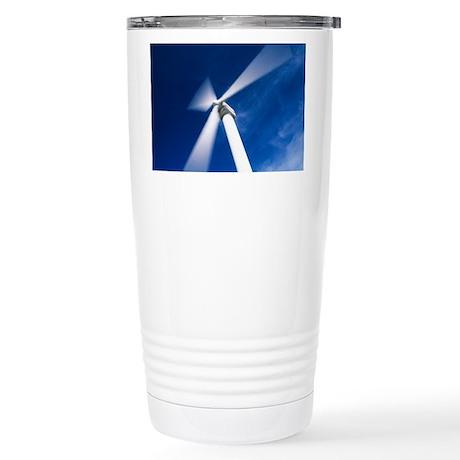Wind turbine - Stainless Steel Travel Mug