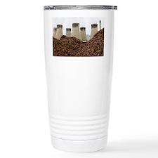 Wood fuel for power station - Travel Mug