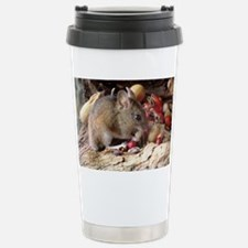Wood mouse feeding - Travel Mug