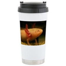 White Mexican axolotl - Travel Mug