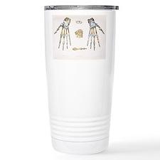 Hand bones and ligaments - Travel Mug