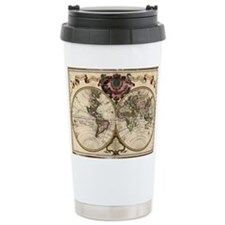 Map of the world, 1720 - Travel Mug