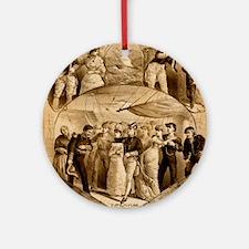 gilbert and sullivan Ornament (Round)