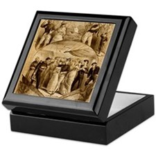 gilbert and sullivan Keepsake Box