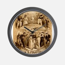 gilbert and sullivan Wall Clock