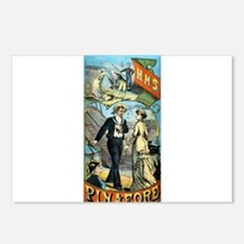 gilbert and sullivan Postcards (Package of 8)