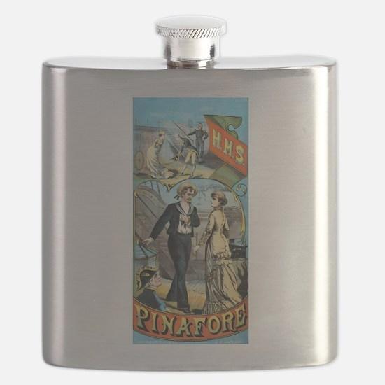 gilbert and sullivan Flask