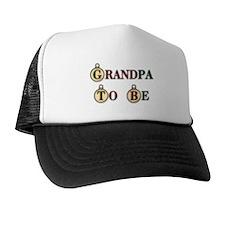 Christmas Grandpa To Be Trucker Hat