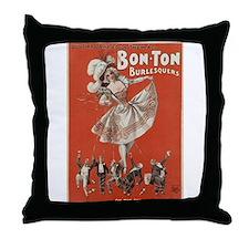 burlesque Throw Pillow