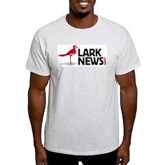 Lark News Ash Grey T-Shirt