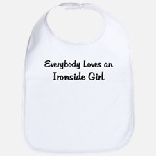 Ironside Girl Bib
