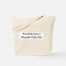 Klamath Falls Girl Tote Bag