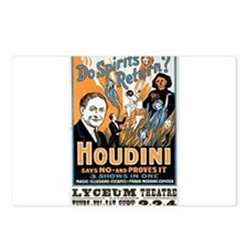 houdini Postcards (Package of 8)