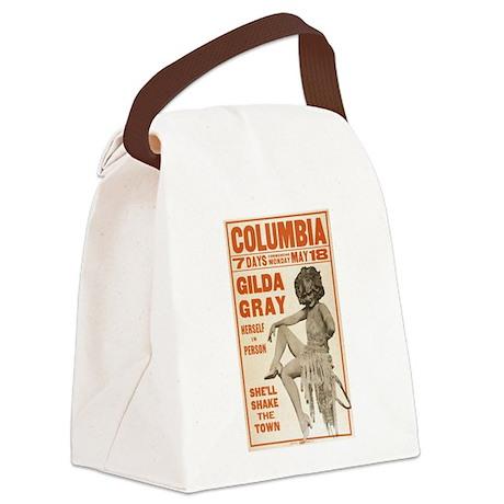 burlesque Canvas Lunch Bag