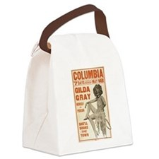 burlesque Canvas Lunch Bag