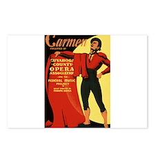 carmen Postcards (Package of 8)