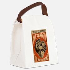 vaudeville Canvas Lunch Bag