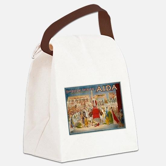 aida Canvas Lunch Bag