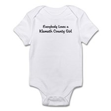 Klamath County Girl Infant Bodysuit
