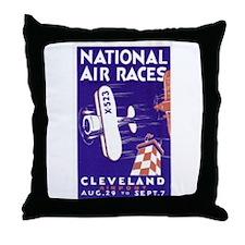 national air show Throw Pillow