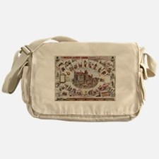vaudeville Messenger Bag