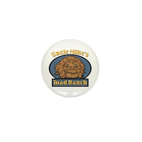 Uncle Mike's Toad Ranch Mini Button (10 pack)