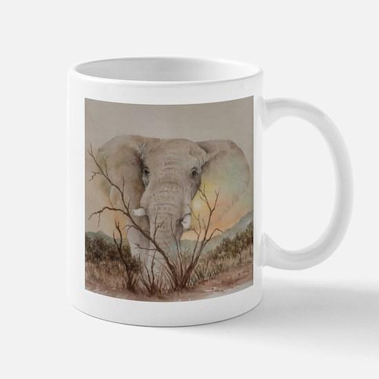 Cute African elephants Mug