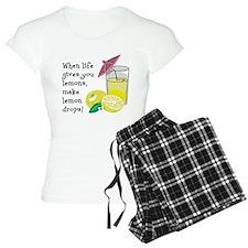 Lemon Drop Martini Pajamas