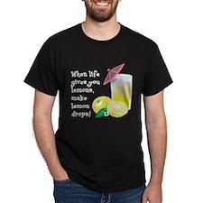 Lemon Drop Martini T-Shirt