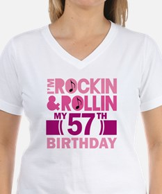 57th Birthday rock and roll Shirt
