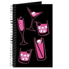 Pink Skull Cocktails Journal