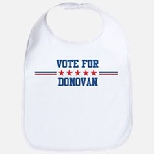 Vote for DONOVAN Bib