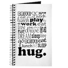 Eat Sleep Hug Journal