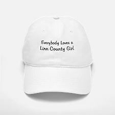 Linn County Girl Baseball Baseball Cap