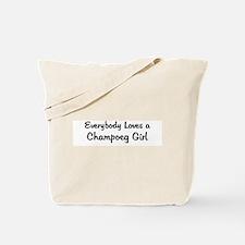 Champoeg Girl Tote Bag