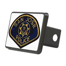 San Jose Police patch Hitch Cover