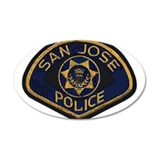 San Jose Police patch Wall Decal