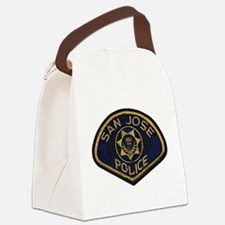 San Jose Police patch Canvas Lunch Bag