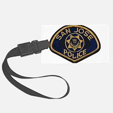 San Jose Police patch Luggage Tag