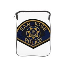 San Jose Police patch iPad Sleeve