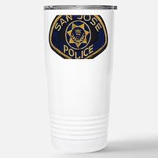 San Jose Police patch Stainless Steel Travel Mug