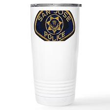 San Jose Police patch Travel Mug