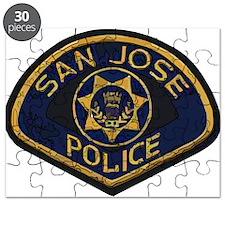 San Jose Police patch Puzzle