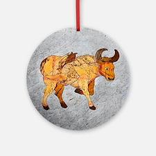 Taurus - Round Ornament