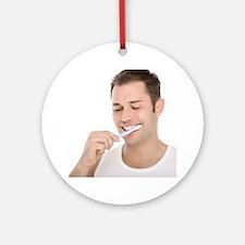 Dental hygiene - Round Ornament